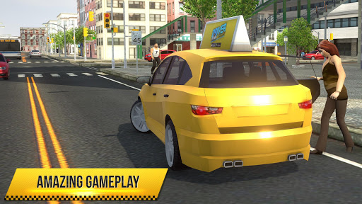 Taxi Simulator 2018  screenshots 8