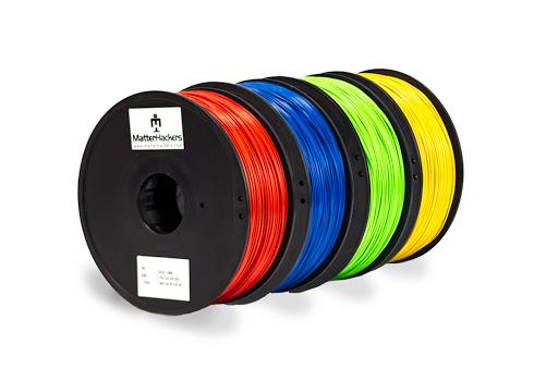 3D Printing PLA filament material colors