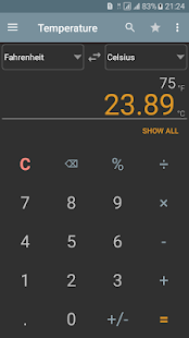 Unit Converter Calculator Pro Screenshot