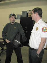 Photo: Deputy Chief of Operations James Neils (right)