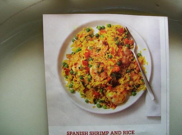 Spanish Shrimp And Rice Recipe