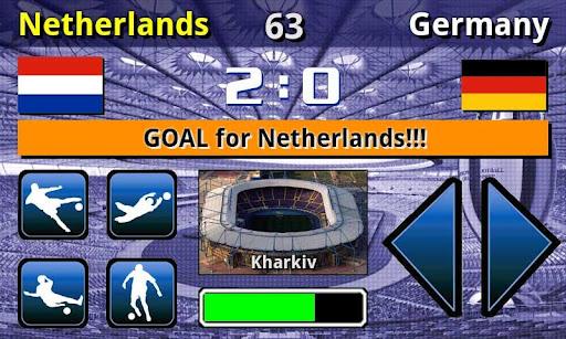 EURO 2012 Football/Soccer Game 1.0.5 screenshots 5