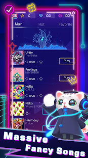 Sonic Cat - Slash the Beats 1.3.80 APK + Mod (Unlimited money) untuk android