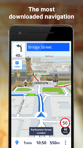 Sygic GPS Navigation & Maps 18.3.3 screenshots 1