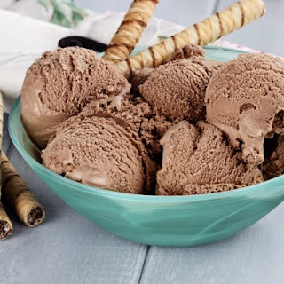 Chocolate Frozen Yogurt.