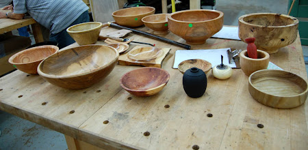 Photo: The Show & Tell table had many sizes and shapes.