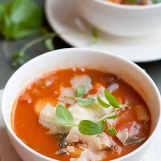 Mushroom Minestrone Soup