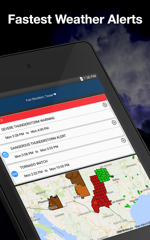 Weather by WeatherBug: Real Time Forecast & Alerts screenshots