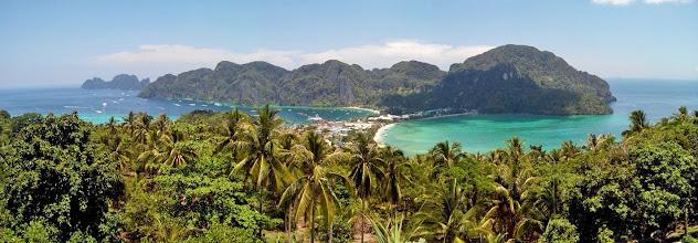 Photo: Панорама Phi Phi