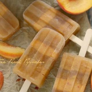 Sweet Tea Peach Popsicles ~Guest Post~.