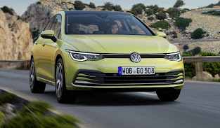 VW reveal the new Golf