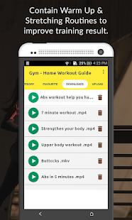 Gym - Home Workout Guide - náhled
