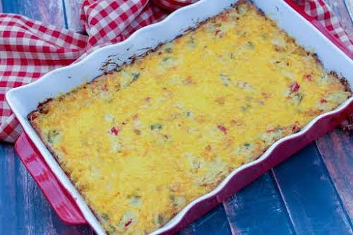 """Creole Hash Brown Casserole""""We loved the Creole spin on a traditional side..."""