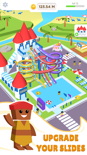 Idle Waterpark 3D Fun Aquapark 1.3 Mod screenshots 2