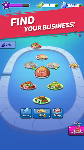 Merge Pizza: Best Yummy Pizza Merger game apkmr screenshots 3