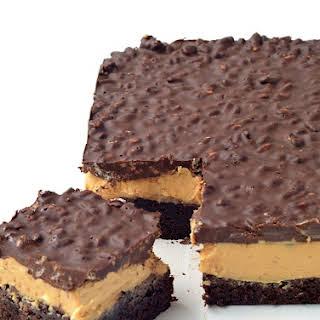 Peanut Butter Chocolate Brownie Crunch Bars.