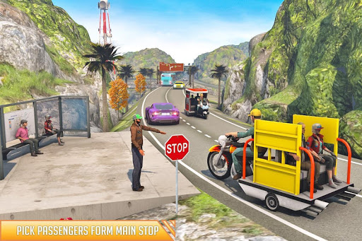 City Auto Rickshaw Tuk Tuk Driver 2019 0.1 screenshots 6