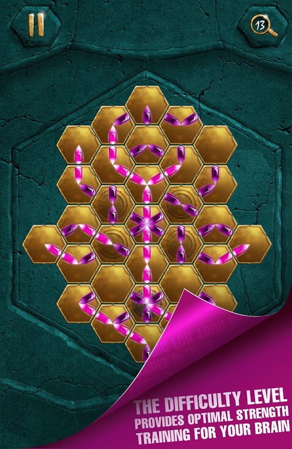 Crystalux puzzle game- screenshot