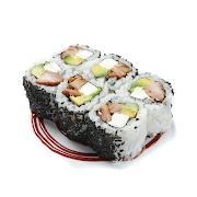 Teriyaki Chicken, Avocado & Cream Cheese Roll