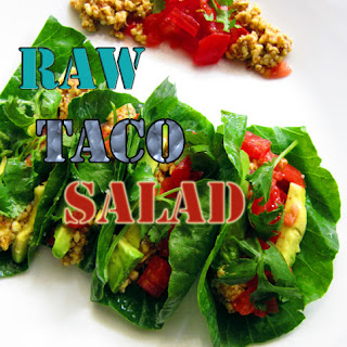 Ultimate Raw Taco Salad !