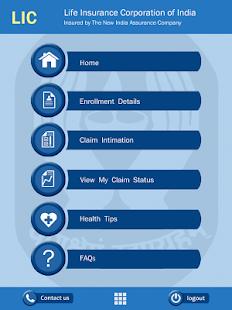 MDIndia LIC Mediclaim App screenshot