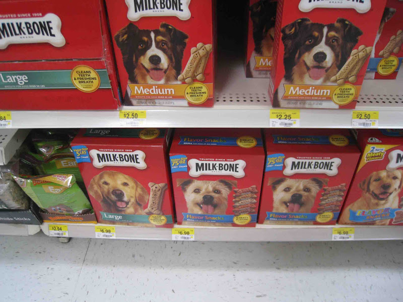 Photo: Ok, I am a dork, but who else loves seeing all the cute pooches on #milk-bone boxes?