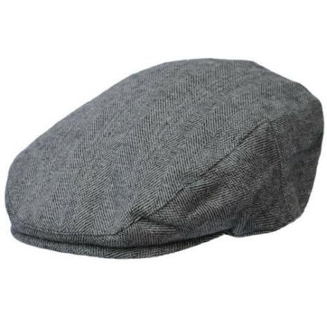 Grå flat cap