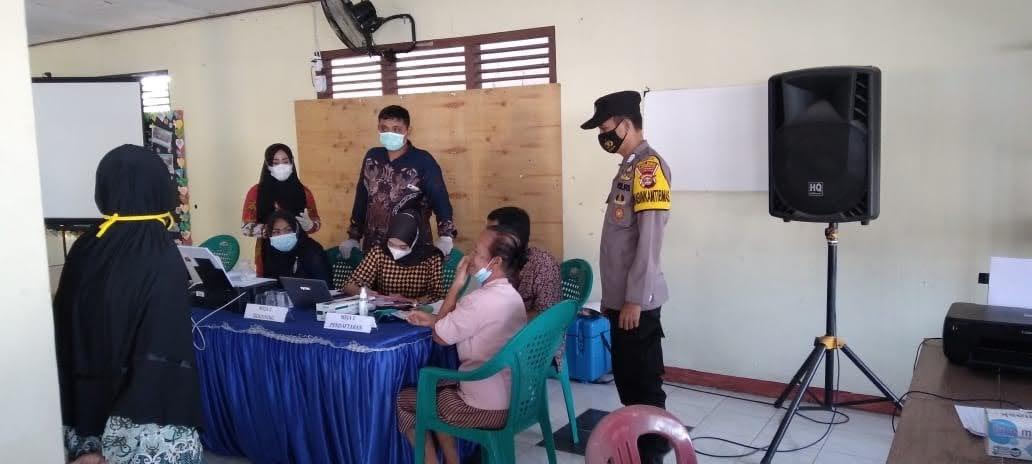 Tim Mobile Vaksinasi Polres Tubaba dan Pemkab Tubaba Kembali Targetkan Vaksin Untuk Lansia