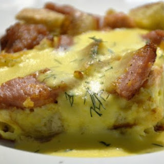Overnight Eggs Benedict Casserole Recipe