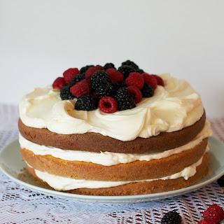 Berry Buttermilk Layer Cake