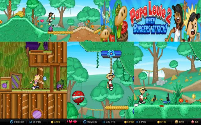 Play papa louie 2 games casino theme party idea