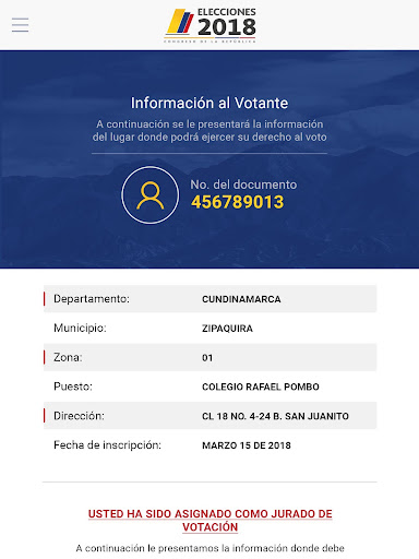 Infovotantes 2018 app (apk) free download for Android/PC/Windows screenshot