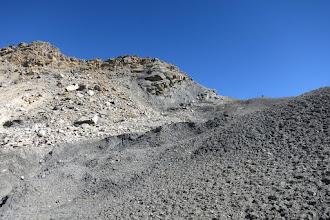 Photo: Dans la descente du Goma La