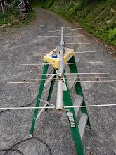 Photo: 144 MHz 8L yagi for rear microwave mast