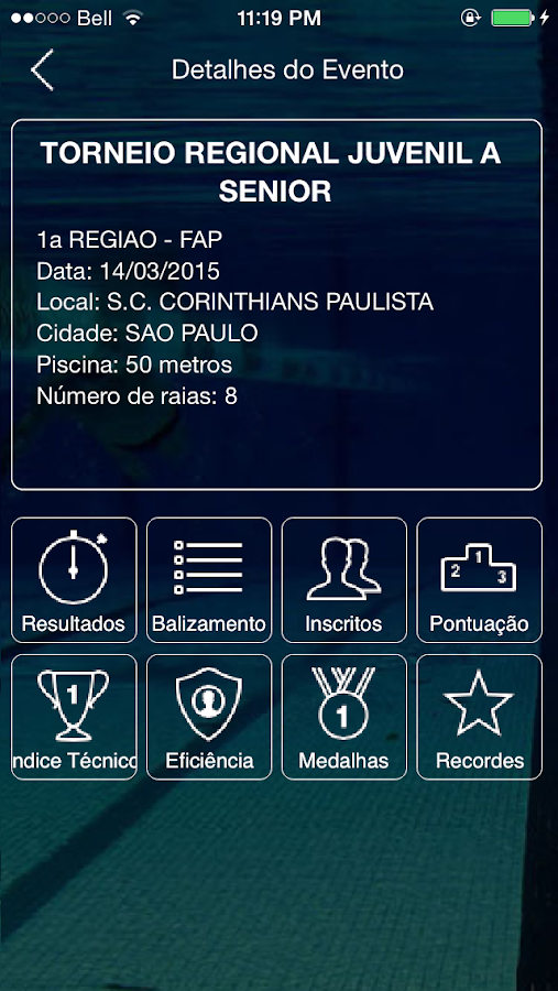 Aquática Paulista- screenshot