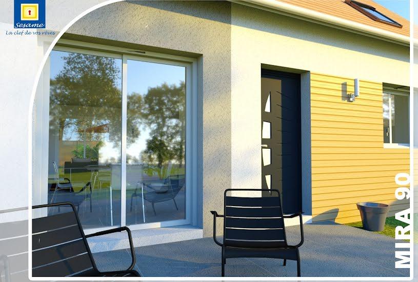 Vente Terrain + Maison - Terrain : 815m² - Maison : 90m² à Fublaines (77470)