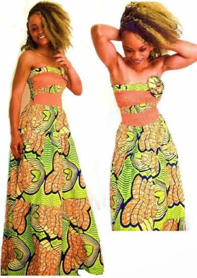 Mod le tenue pagne africain applications android sur for Applications robe de mariage pour android