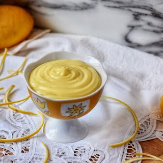 Italian Lemon Pastry Cream.
