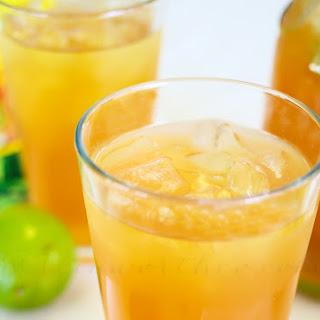 Coconut Lime Tea.