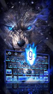 Howl Wolf Keyboard Theme