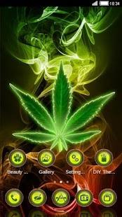 Weed Rasta Theme: Reggae Wallpaper HD - náhled