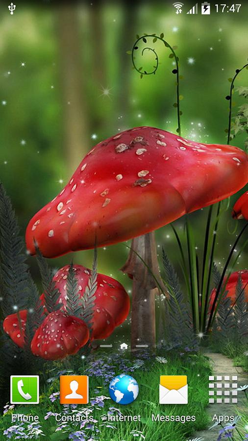 enchanted mushroom wallpaper - photo #18