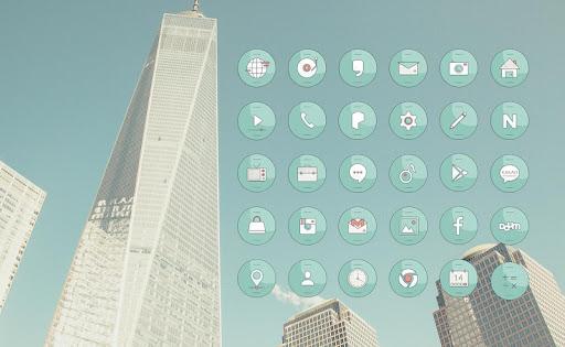 Refreshing Cities 런처플래닛 테마
