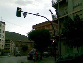 Photo: La televigilancia llega a Cehegin, ¿ves la camara ahi arriba?, ojito con lo que haces ;-) --enviado desde mi nokia E61i