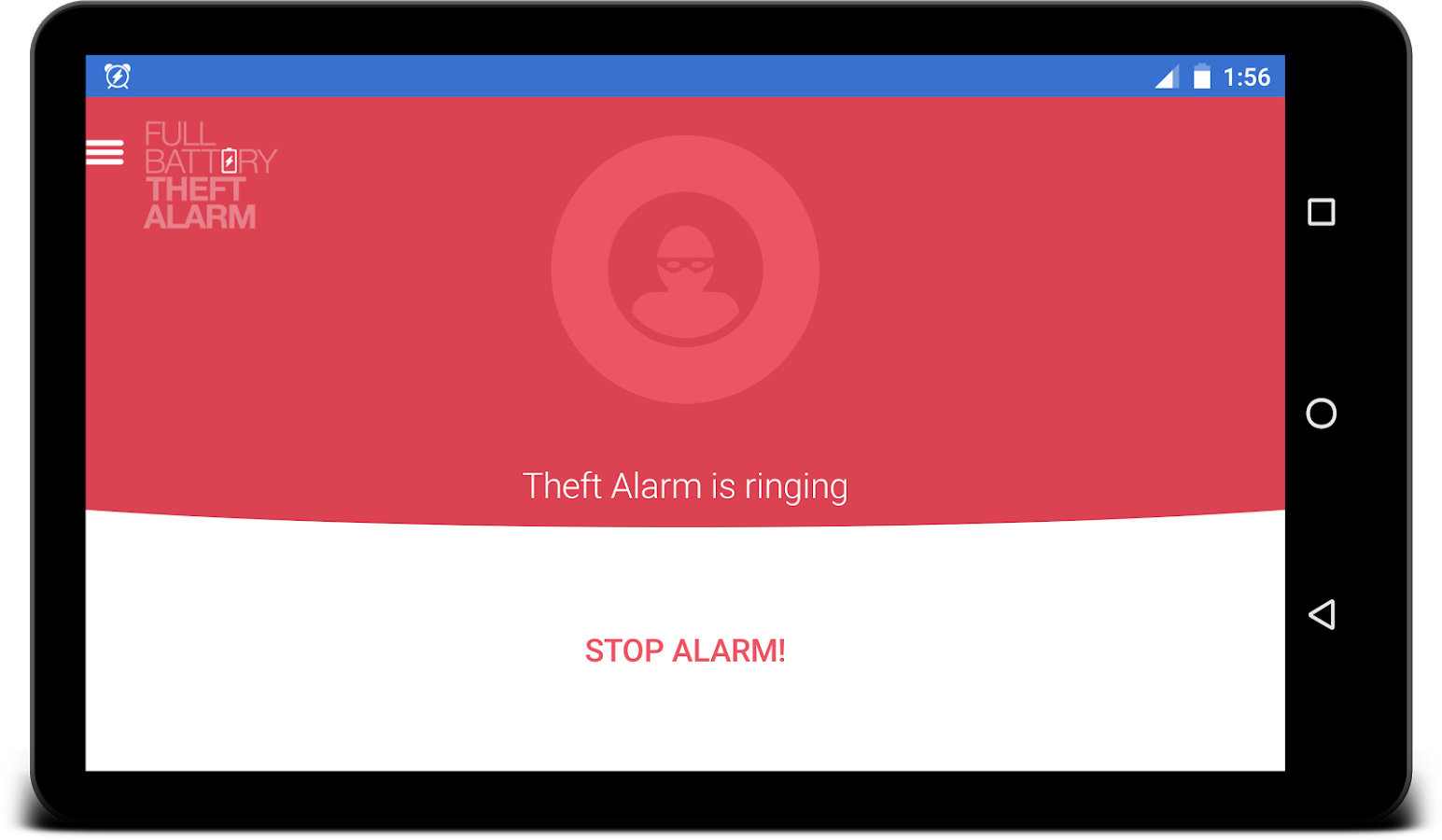 Full Battery & Theft Alarm- screenshot