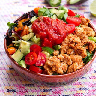 Clean Eating Turkey Taco Salad