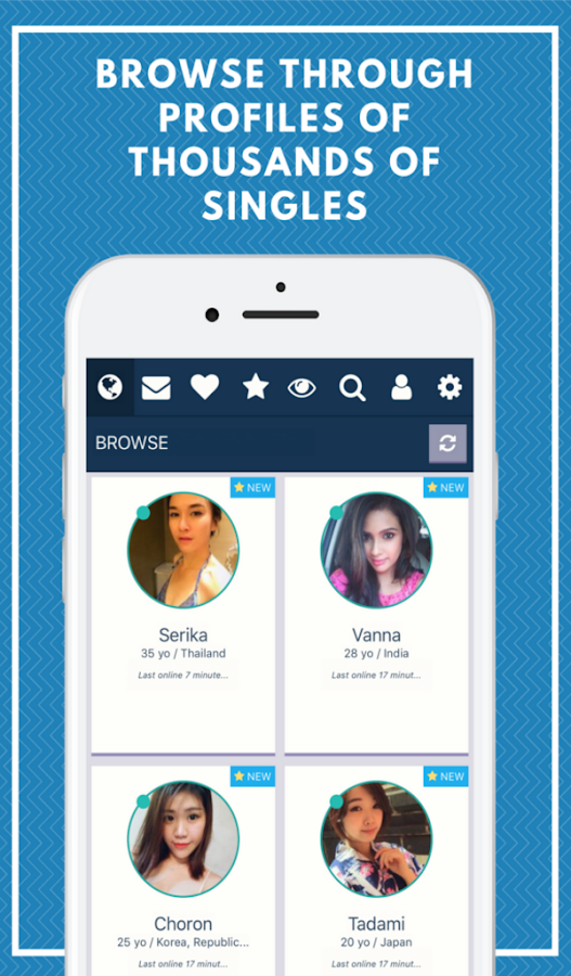 Koreaanse dating app 1km