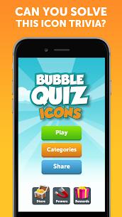 Bubble Quiz – تخمين الأيقونة ، لعبة ذكية التوافه 1