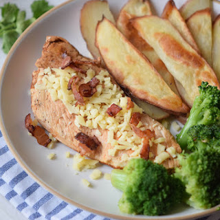 Baked Bacon Parmesan Chicken