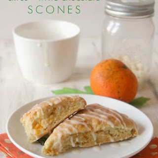 Citrus & White Chocolate Scones